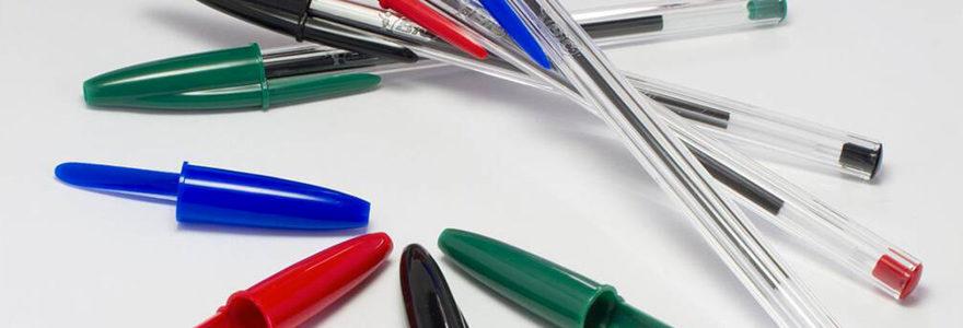 produits de papeterie et d'écriture BIC